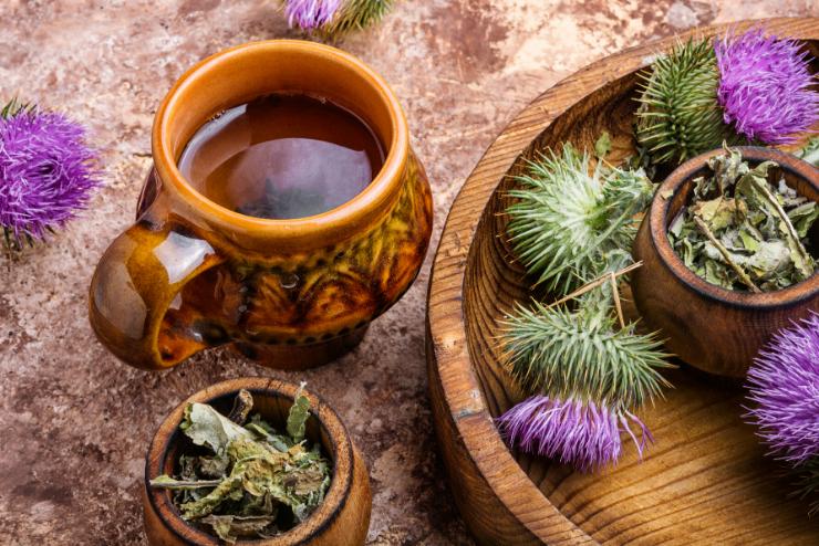 herbata z ostu