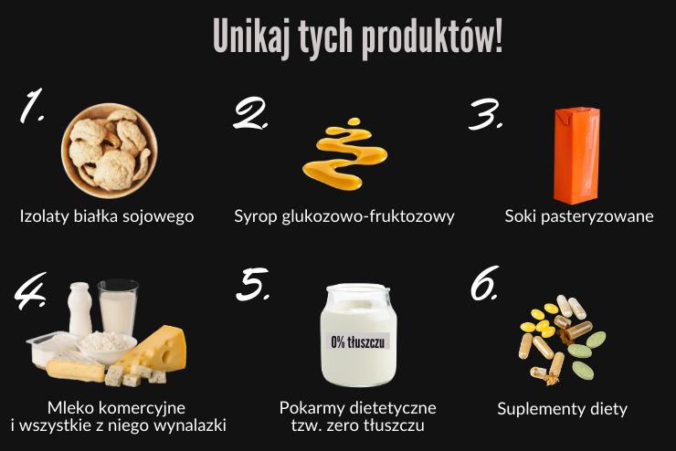 szkodliwe produkty