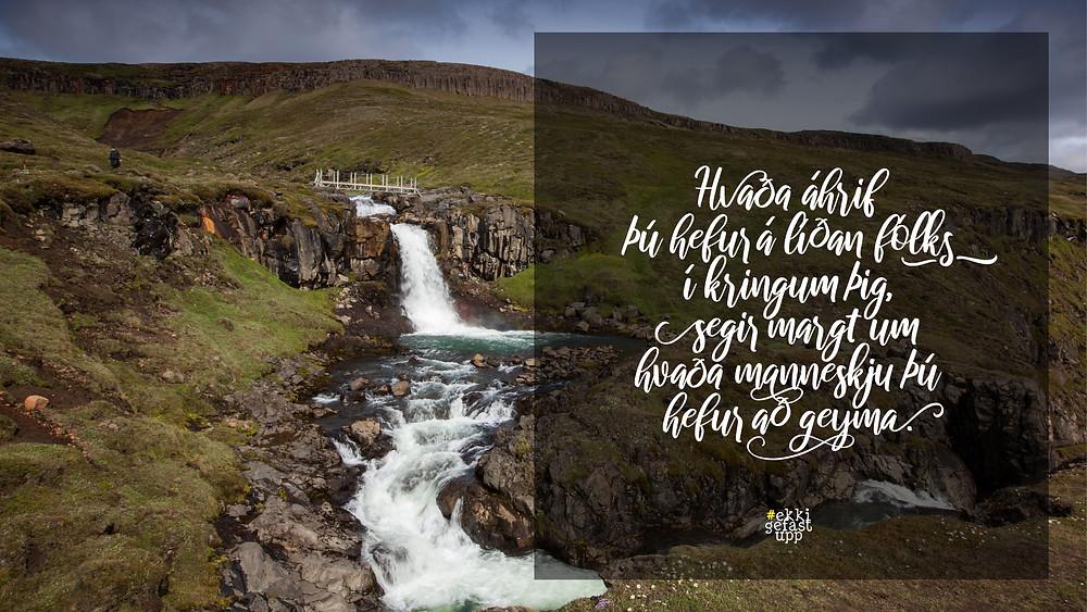 Hvaða áhrif þú hefur á líðan fólks í kringum þig, segir margt um hvaða manneskju þú hefur að geyma.