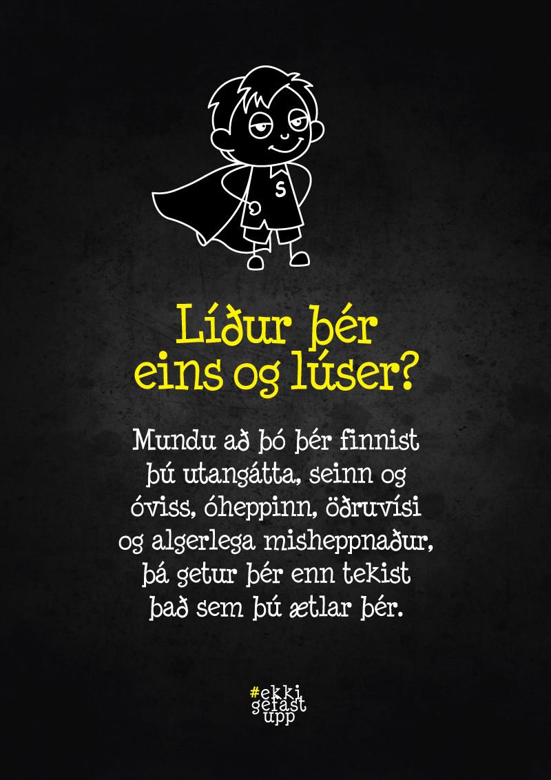 Líður þér eins og lúser?