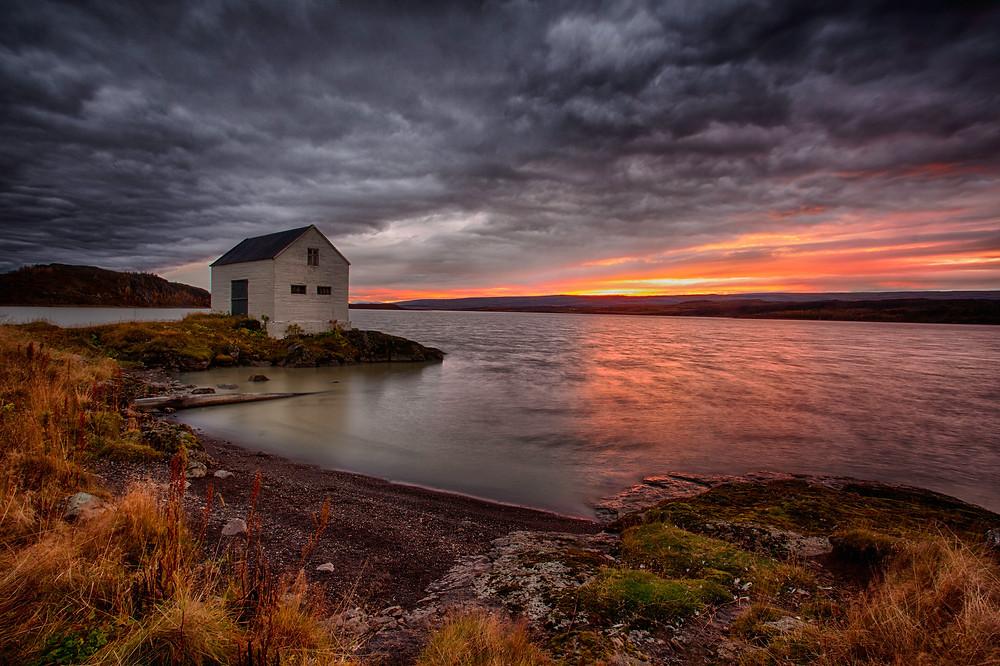 Ljósmynd: Gunnar Gunnarsson / Egilsstaðanes við Lagarfljót