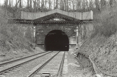 Watford Tunnel - south entrance to west tunnel