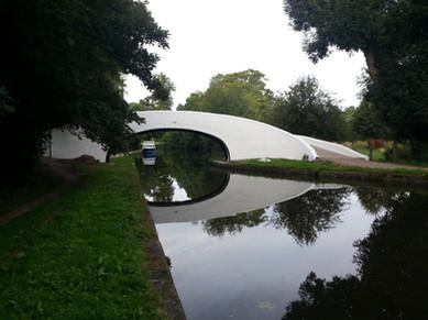 Bridge 163, 50m south-west of Grove Wharf, Grand Union Canal