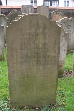 George Doney Headstone, Church Street