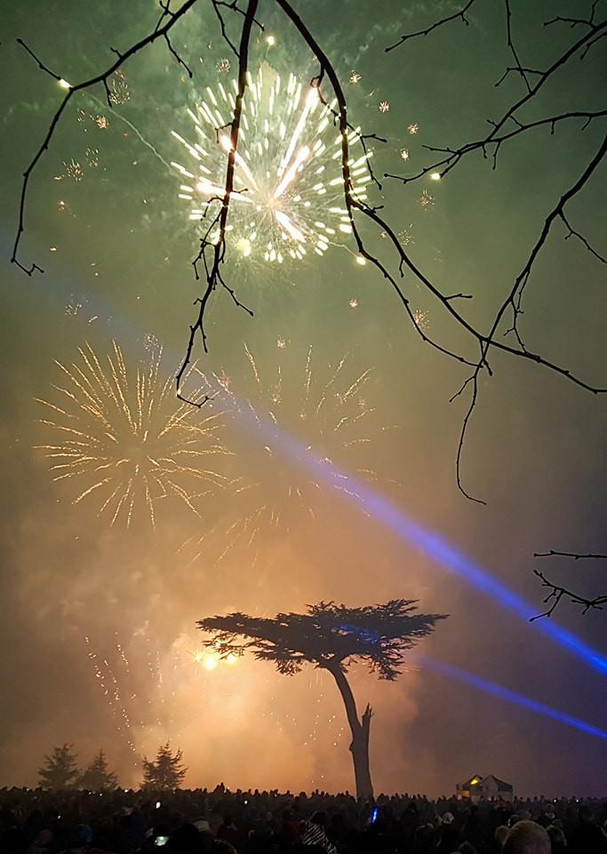 Cassiobury fireworks 2017