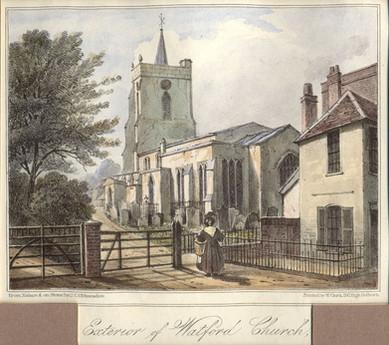 St Mary's Church - 1830