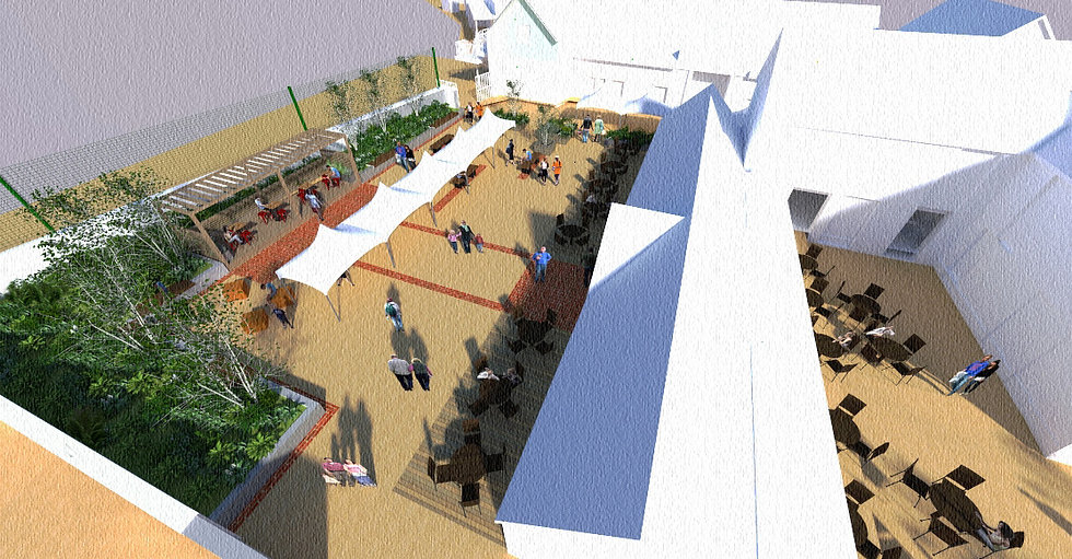 1243_Artists impression of Stable Courty