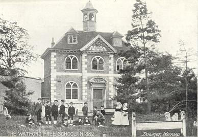 Elizabeth Fuller Free School 1882