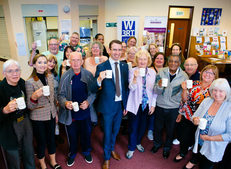 New dementia café to offer welcoming space in Watford