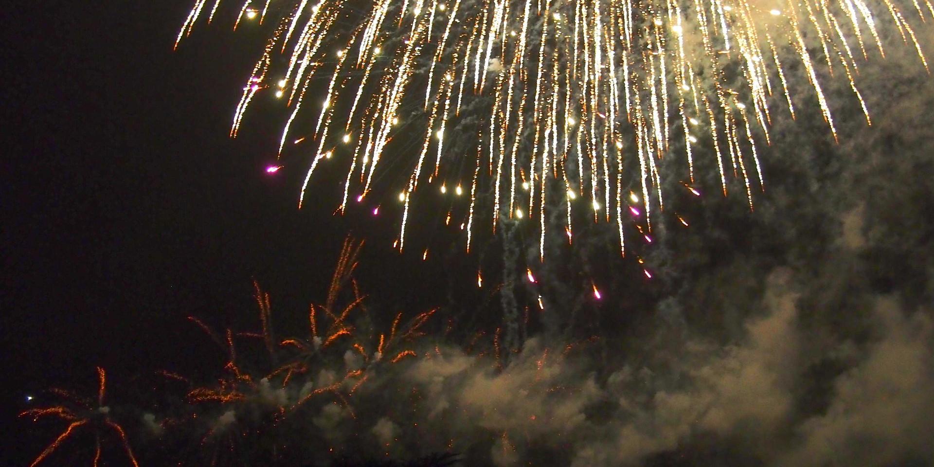 Cassiobury Fireworks 2016