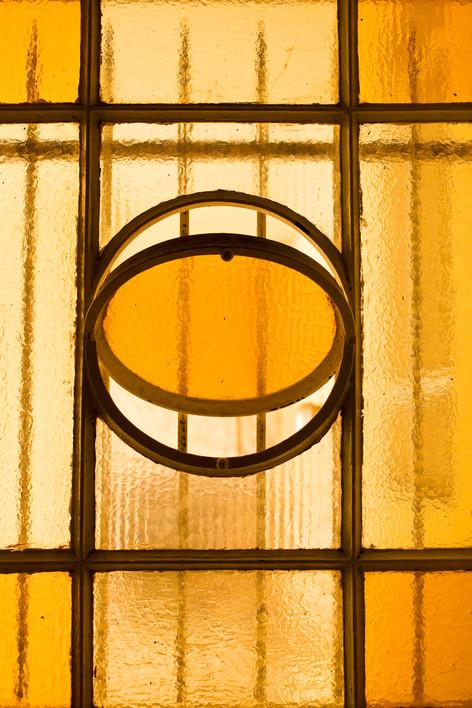 window of the veranda