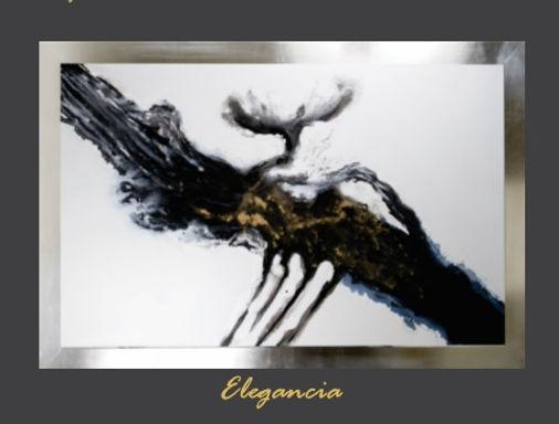 Cuadro pintado al Ole modelo  Elegancia