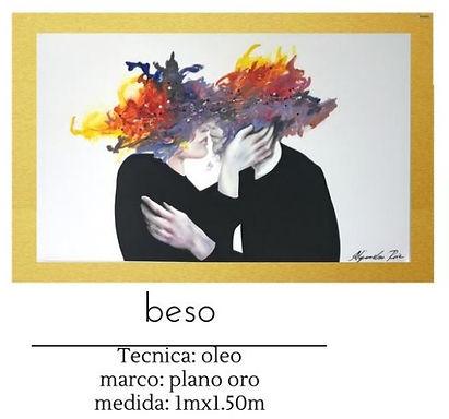Cuadro Beso