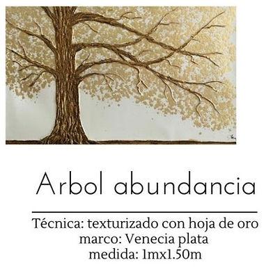 Cuadro Arbol Abundancia