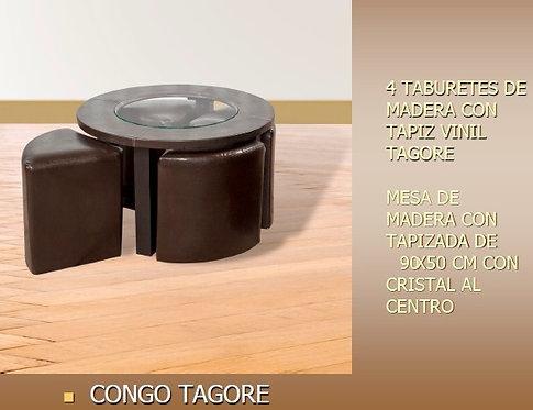 Mesa De Centro Congo Tagore