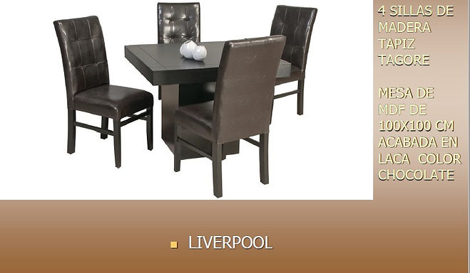 Comedor Liverpool
