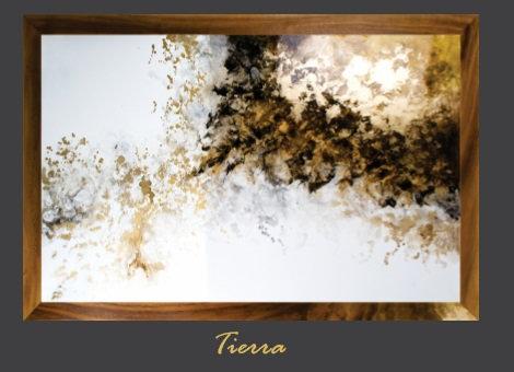 Cuadro pintado al Oleo, modelo tierra