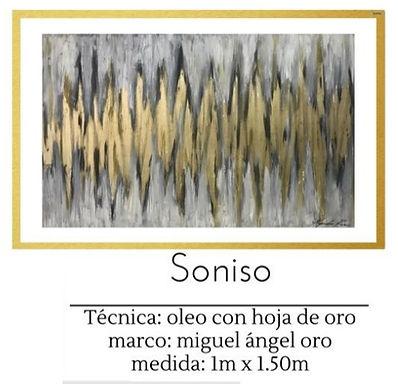 Cuadro pintado al Oleo modelo Soniso