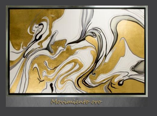 Cuadro Movimiento Oro