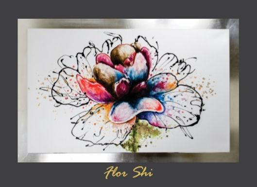 Cuadro Flor Shi