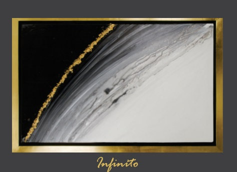 Cuadro pintado al Oleo, modelo infinito