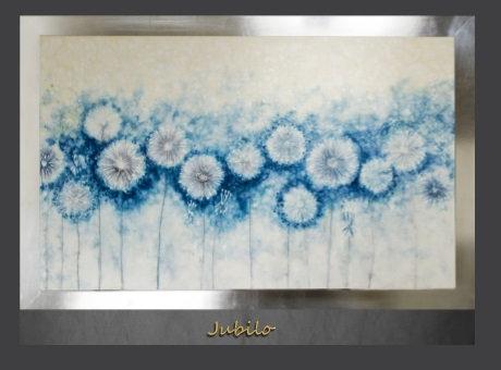 Cuadro pintado al Oleo, modelo Jubilo
