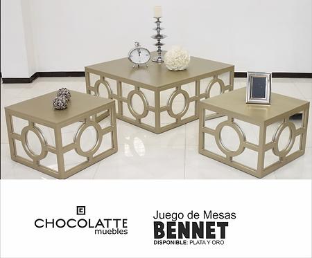 Set de mesas Bennet