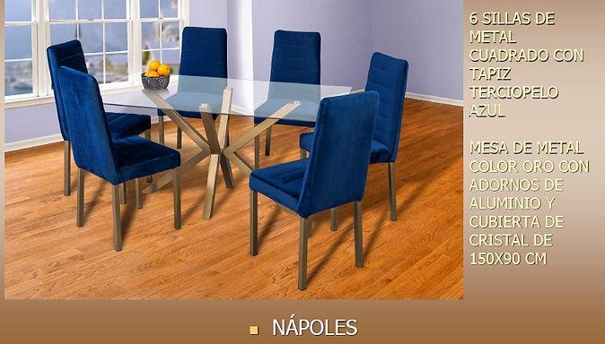 Comedor Nápoles