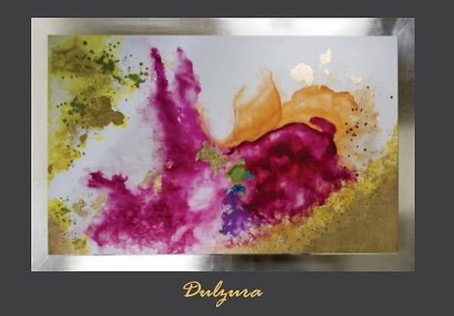 Cuadro pintado al Ole modelo Dulzura