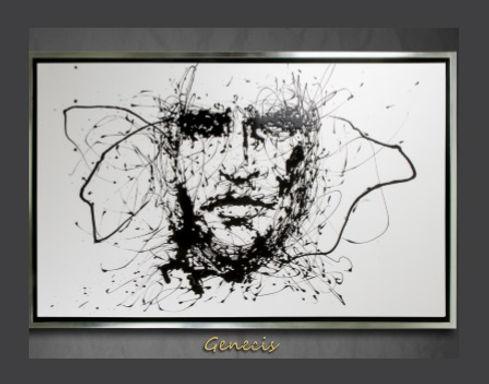Cuadro pintado al Oleo, modelo Genecis