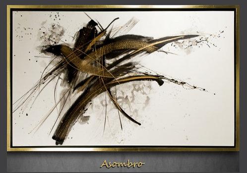 Cuadro pintado al Oleo, modelo Asombro