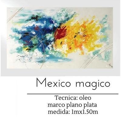 Cuadro Mexico Magico