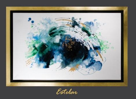 Cuadro pintado al Ole modelo  Estelar