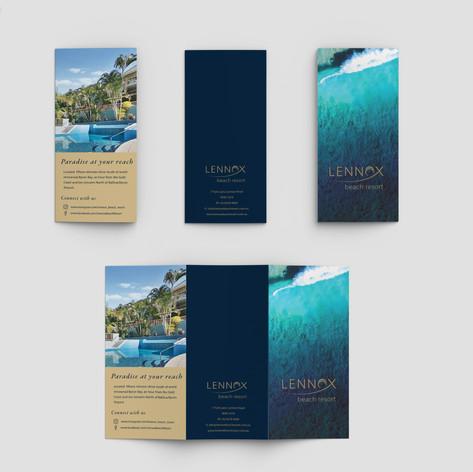 Brochure for Lennox Beach Resort