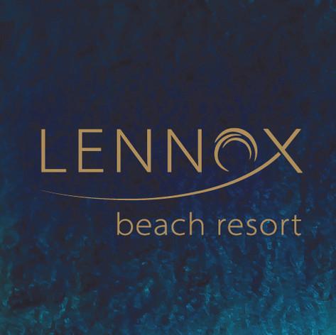 Logo design for Lennox Beach Resort