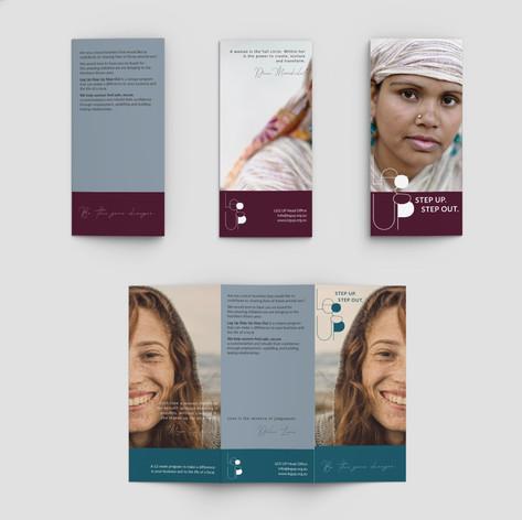 Brochure for social awareness campaign
