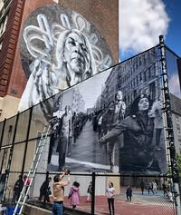 Installating The Bronx March, 1969 - Hiram Maristany.