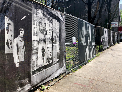 From the original office headquarters of the Young Lords, to the take over of the TB testing truck and the funeral march of Julio Roldan, this location on Madison Avenue (between 111th and 112th Street) features five photographs of events that took place on this very block between 1969-1970.