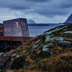 KITCHEN ON THE EDGE OF THE WORLD