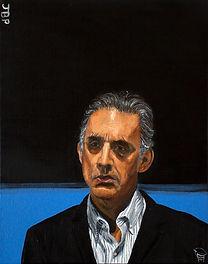 Jordan Peterson painting - christopher r