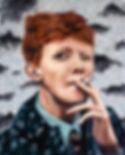 King Krule painting - Christopher R Inwo