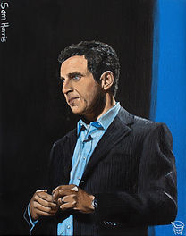 sam harris painting - christopher r inwo