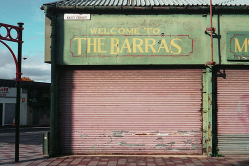 'Welcome to The Barras' A4 Print