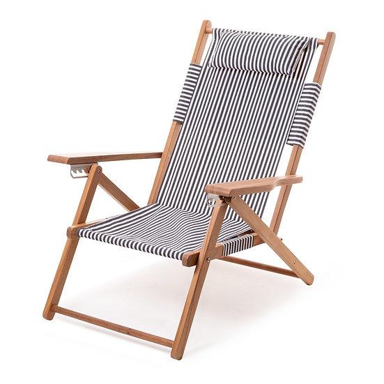 Chaise longue TOMMY Lauren's Navy Stripe - BUSINESS & & PLEASURE