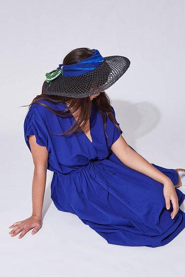 Chapeau à visière OMBRAGE Nuit - MAPOESIE