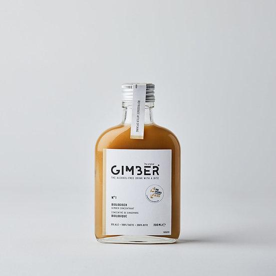 Concentré de gingembre biologique 200ml - GIMBER