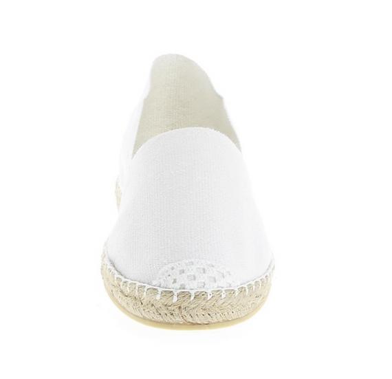 Espadrilles Blanc - Maison de l'espadrille