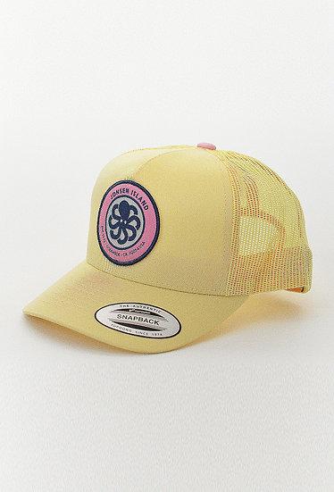 Trucker Hat LOGO Yellow - JONSEN ISLAND