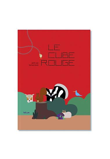 Le Cube Rouge (Bernard Duisit, Janik Coat) - Hélium Éd