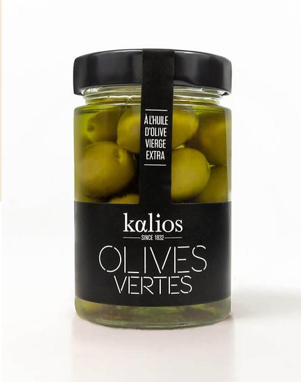 Olives vertes à l'huile d'olive - KALIOS